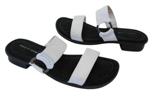 Predictions Great Condition Size 7 White Sandals