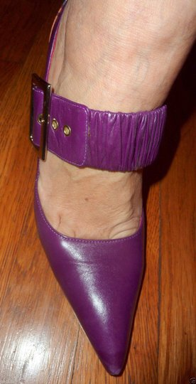 Cesare Paciotti Maryjane Stilettos Stiletto purple multi Pumps