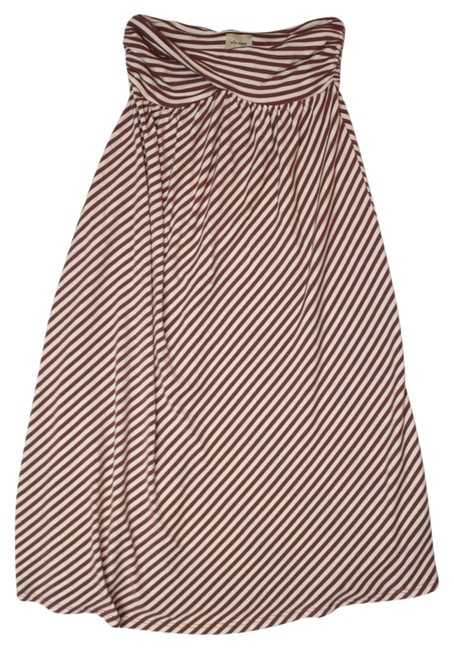 Preload https://item5.tradesy.com/images/ella-moss-brown-off-white-striped-knee-length-short-casual-dress-size-4-s-3613594-0-0.jpg?width=400&height=650