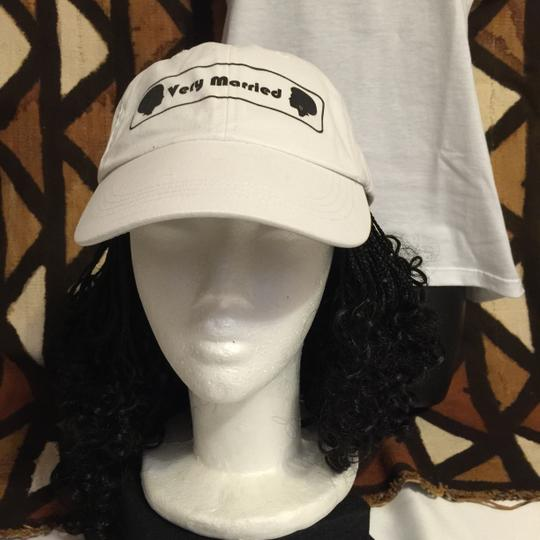 """"""" Very Married """" Unisex Adjustable Baseball-style Visor Cap (afrocentric Style)"""