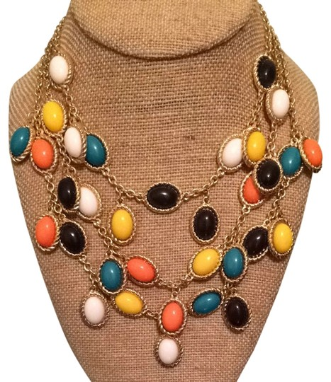 Preload https://item4.tradesy.com/images/spade-coral-yellow-black-white-and-teal-necklace-3614323-0-0.jpg?width=440&height=440