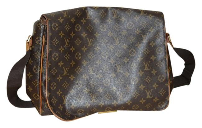 Item - Abbesses M45257 Monogram Canvas Brown and Gold Messenger Bag