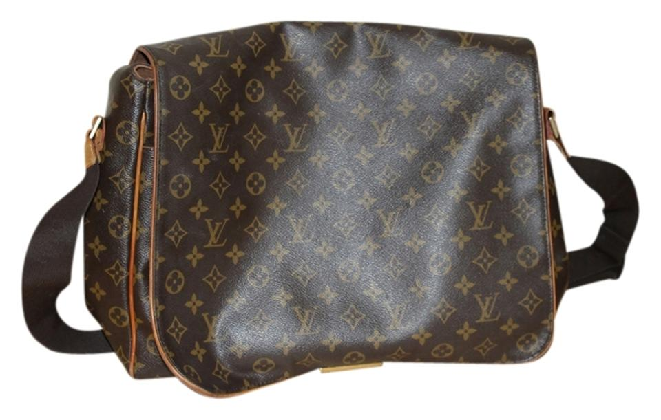 2b5cd69b3812 Louis Vuitton Leather Paris Brown and Gold Messenger Bag Image 0 ...