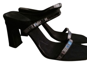 Nine West Black Mules