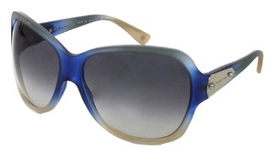 Balenciaga Balenciaga Blue Gradient Square Oversized Sunglasses