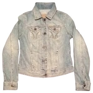 Hollister Light Wash Womens Jean Jacket