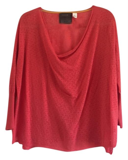 Preload https://item1.tradesy.com/images/anthropologie-coral-sweaterpullover-size-8-m-3615610-0-0.jpg?width=400&height=650