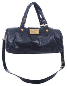 Marc by Marc Jacobs Black Leather Crossbody Satchel