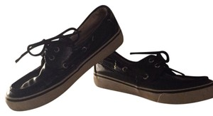 Sperry Patent Leather Black Flats