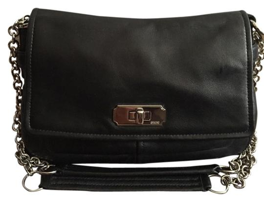 Preload https://item3.tradesy.com/images/coach-with-silver-chain-black-leather-shoulder-bag-3616012-0-0.jpg?width=440&height=440