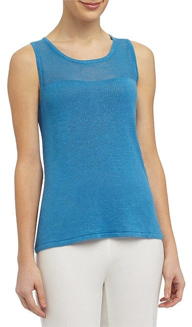 Preload https://item4.tradesy.com/images/dusty-blue-investments-sleeveless-shell-tank-topcami-size-14-l-3616393-0-0.jpg?width=400&height=650