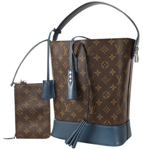 Louis Vuitton Limited Edition Monogram Rare Tote in Blue