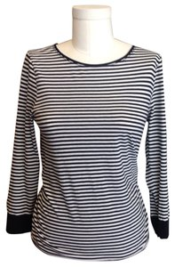 J.Crew T Shirt Black & White