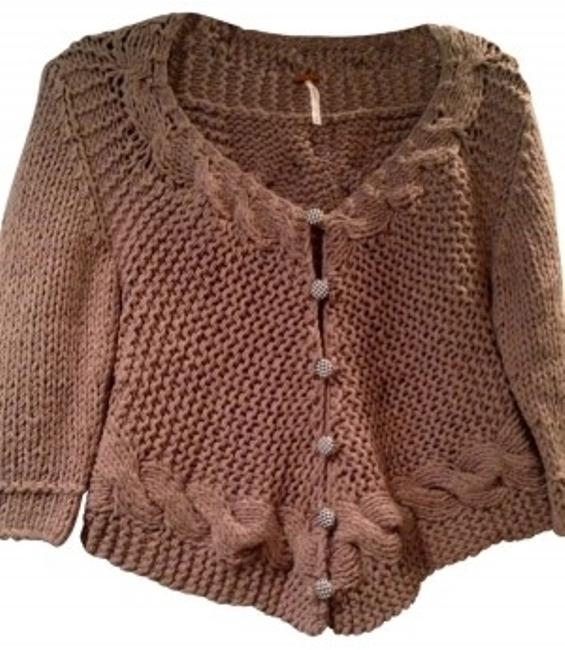 Preload https://item2.tradesy.com/images/free-people-brown-cropped-sweaterpullover-size-4-s-36171-0-0.jpg?width=400&height=650