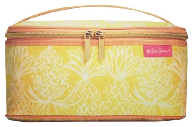 Item - Yellow White and Orange For Target Makeup Cosmetic Bag