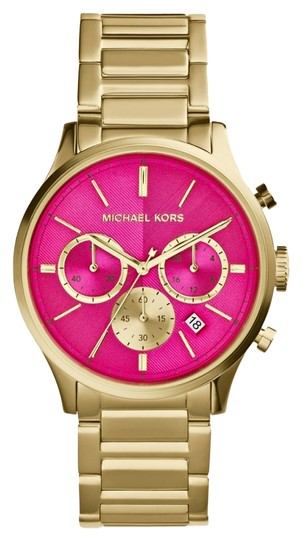Preload https://item2.tradesy.com/images/michael-kors-michael-kors-women-s-chronograph-bailey-gold-tone-stainless-steel-bracelet-watch-44mm-mk5909-3617566-0-0.jpg?width=440&height=440