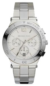 Michael Kors Michael Kors Wyatt Silver-Tone Stainless Steel Chronograph Women's watch MK5932