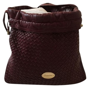 Cappagallo Satchel in Burgundy