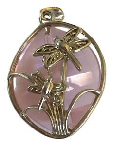 Other Pink Dragonfly Pendant