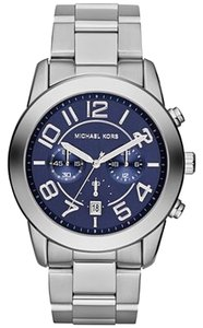 Michael Kors Michael Kors Men's Chronograph Mercer Stainless Steel Bracelet Watch 45mm MK8329
