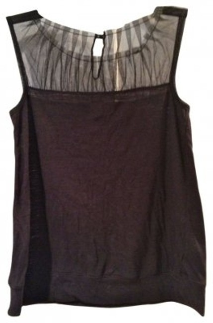 Preload https://item1.tradesy.com/images/madewell-black-with-mesh-neckline-tank-topcami-size-4-s-36185-0-0.jpg?width=400&height=650