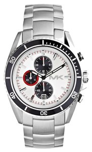 Michael Kors Michael Kors Men's Chronograph Lansing Stainless Steel Bracelet Watch 45mm MK8339
