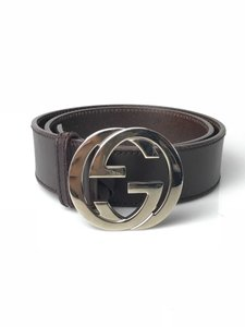 Gucci Interlocking G Buckle Belt