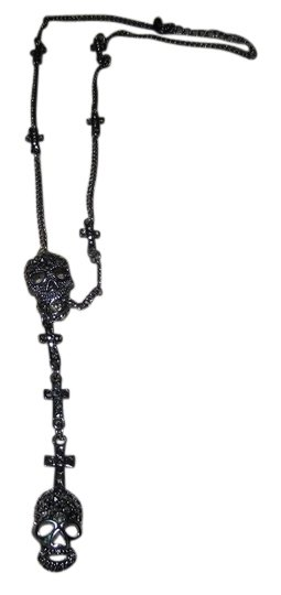 Preload https://item2.tradesy.com/images/hot-topic-crosses-and-skull-necklace-earrings-bone-and-skull-3618976-0-0.jpg?width=440&height=440