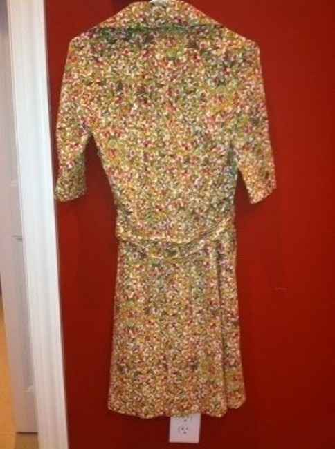 Diane von Furstenberg short dress Multi colored on Tradesy