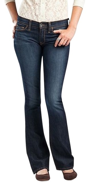 Lucky Brand Sofia Stretch Boot Cut Jeans-Dark Rinse