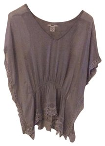 Bar III Top Sheer Grey