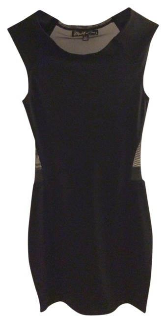 Preload https://item3.tradesy.com/images/elizabeth-and-james-black-sheer-above-knee-night-out-dress-size-2-xs-3620857-0-0.jpg?width=400&height=650