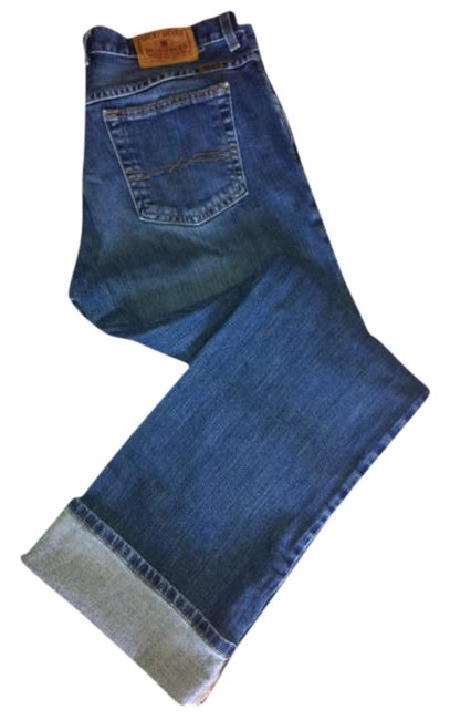 Lucky Brand Easy Rider Dungarees Relaxed Fit Jeans-Medium Wash
