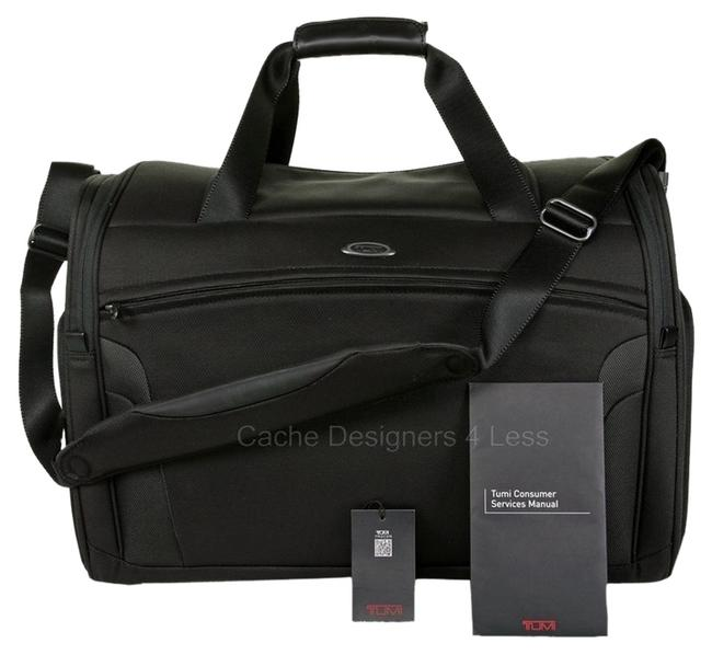 """Item - T3 Factor Carry -on 20.75"""" Luggage 6521d Black Duffle Nylon Weekend/Travel Bag"""