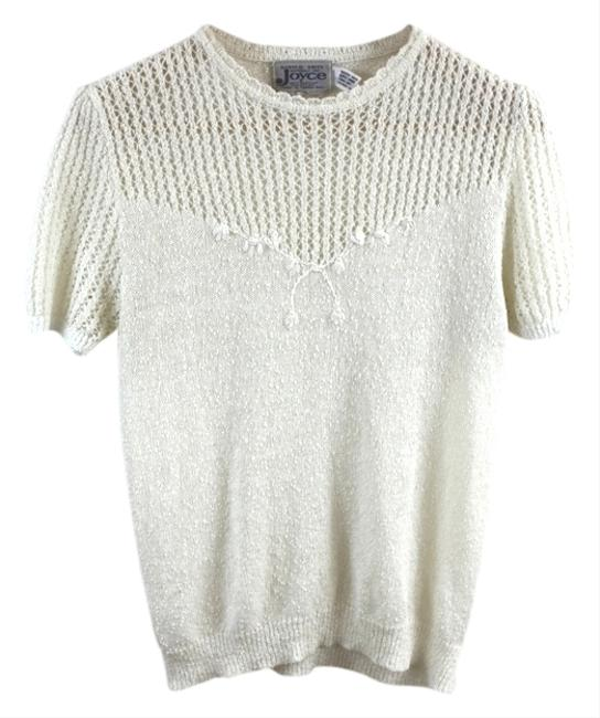 Preload https://item3.tradesy.com/images/other-knit-classic-pearl-top-ivory-3621202-0-2.jpg?width=400&height=650