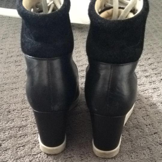 See by Chloé Black And Beige Boots