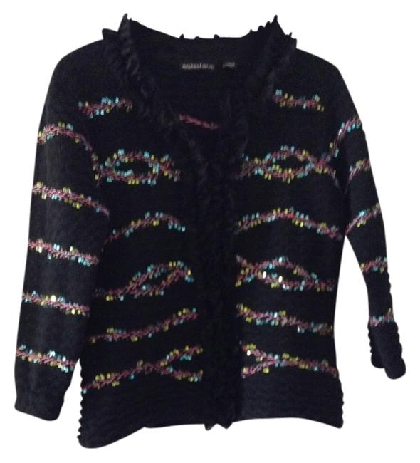 Preload https://img-static.tradesy.com/item/362147/michael-simon-black-stitching-and-sequin-accents-cardigan-size-10-m-0-0-650-650.jpg