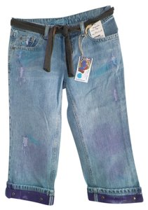 Affordable Fashions Capri/Cropped Denim-Distressed