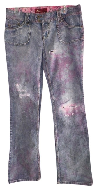 YMI altered Custom Affordable Fashions Cheap Cloths Denim Relaxed Fit Jeans-Distressed