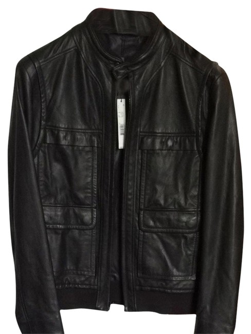 Preload https://item5.tradesy.com/images/elie-tahari-black-leather-marcus-outer-jn367401-size-8-m-3621934-0-0.jpg?width=400&height=650