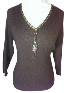 Cynthia Steffe Beaded Sweater