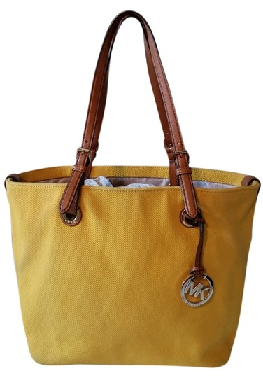 Preload https://item2.tradesy.com/images/michael-kors-yellow-canvas-tote-3622561-0-0.jpg?width=440&height=440