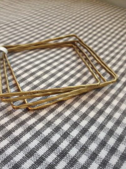 Other NWT Gold Metal Square Bracelets Set of 4