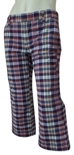 Preload https://item2.tradesy.com/images/red-white-blue-yellow-plaid-juniors-spandex-blend-low-rise-capris-size-8-m-29-30-3622936-0-0.jpg?width=400&height=650