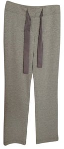 Escada Soft Elegant Adjustable Shick Relaxed Pants Open gray