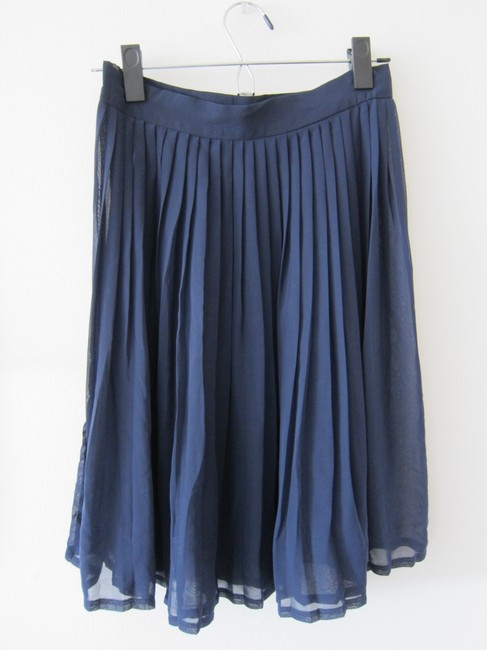 American Apparel Skirt Navy
