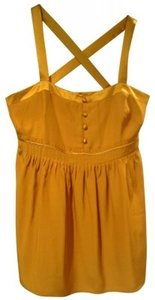 J.Crew Top Golden Yellow