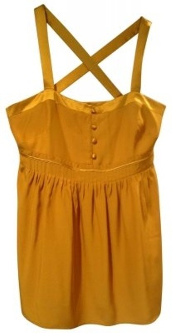 Preload https://img-static.tradesy.com/item/36235/jcrew-golden-yellow-button-blouse-size-4-s-0-0-650-650.jpg