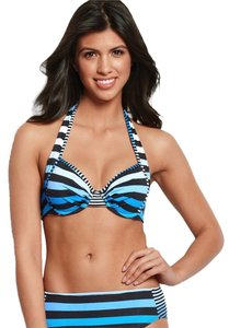 Tommy Bahama Tommy Bahama Lost Stripes Bikini 34D Top and 2 Bottoms Size M