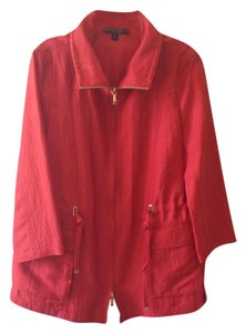Lafayette 148 New York Red Salsa Jacket